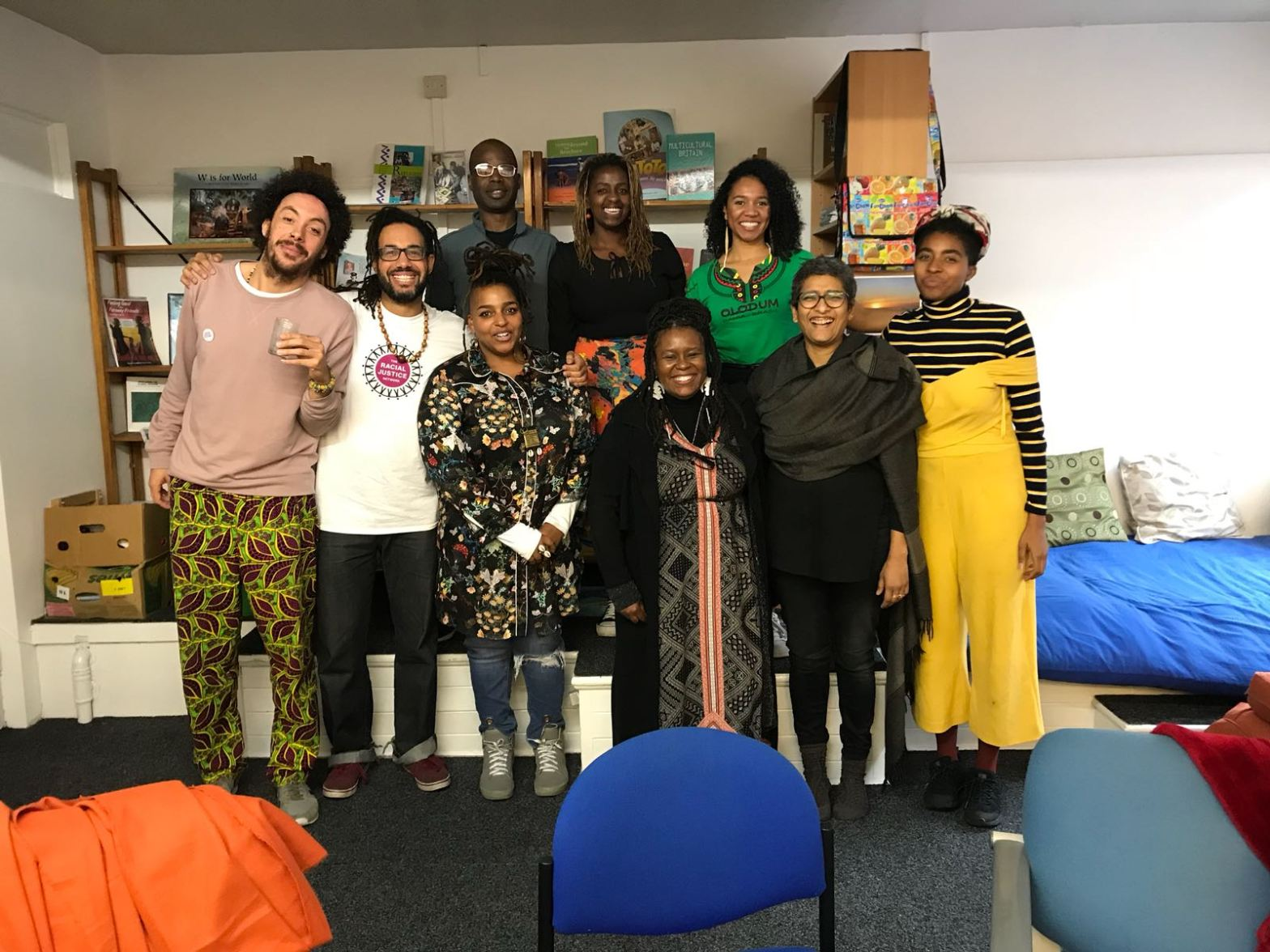 Esther group photo at RJN Reparations Course